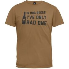 In Dog Beers Ive Only Had One Adult Mens T-Shirt
