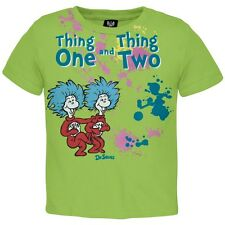 Dr. Seuss - Thing 1 And 2 Messy Things Toddler T-Shirt
