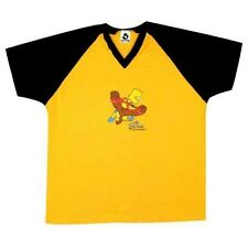 Simpsons - Mens Bart Soccer Jersey One Size - Yellow