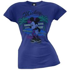 Mickey Mouse - Surfin' Mickey Juniors T-Shirt