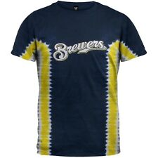 Milwaukee Brewers - Prince Fielder #28 Tie Dye Adult Mens T-Shirt