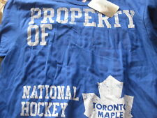 NWT TORONTO MAPLE LEAFS MAJESTIC AUTHENTIC NHL PRODUCT BLUE