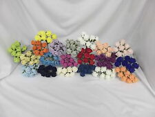 COLOURFAST FOAM ROSES - ARTIFICIAL WEDDING FLOWERS- BUTTONHOLES - 8 HEADS 3CM
