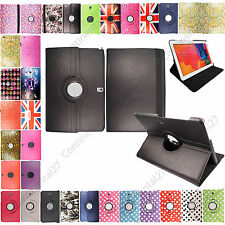 Samsung Galaxy Tab 2 3 4 Printed Smart Stand Leather Case Cover + Guard