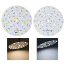 24W 5630 SMD 48 LEDs Round LED Chip Light Lamp Bulb Pure/Warm White Super Bright