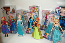 Disney Frozen Dolls Elsa/Anna/Animator/Ice Skating/Singing/Musical Magical/Krist