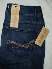 Nine West Vintage Cuffed BOHO Straight Womens Capri Denim Jeans Size 2P New $59