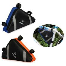 Triangle MTB Bicycle Cycling Bike Bag Pouch Frame for Tripod Phone Tools NEW