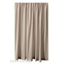 "Solid Beige 108"" H Velvet Curtain Long Single Panel Wedding Boutique Decor Drape"