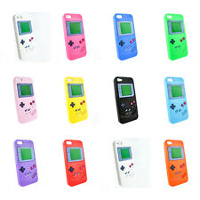 For Apple iPhone 5 5G Game Boy Design Silicone Soft Gel Jelly Skin Case Cover