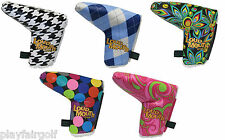 New - Winning Edge Headcover Design Loudmouth Golf Putter Head Cover