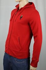 Ralph Lauren Red Tuxedo Polo Bear Hoodie Full Zip Sweatshirt NWT