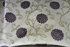 Charlotte Chenille  Aubergine Curtain/Craft Fabric