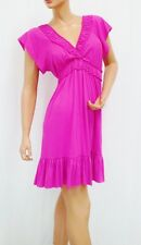 NEW PLUS SIZE CASUAL EMPIRE WAIST DRESS HOUSE DRESS NIGHT GOWN 1X 2X 3X 7 COLORS