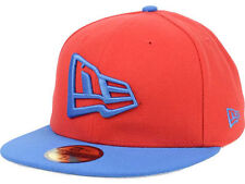 New Era Originals Flag 59Fifty Fitted Cap Hat $35 Bright Red & Blue Go Custom