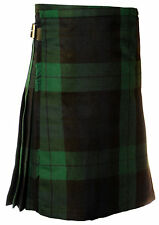 Great Gift: Boy's Kids Deluxe Polyviscose Kilt Black Watch Tartan NEW!