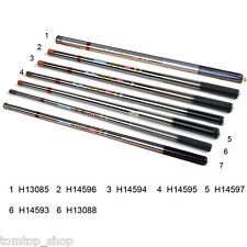Portable 5.91ft-17.72ft Telescopic Fishing Rod Fishing Pole Tackle Carbon Fiber