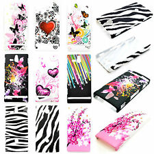 Flower Skin Hard Cell Phone Back Shell Good Case Cover For Sony Xperia U ST25i