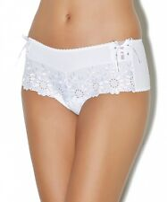 Aubade Saint Tropez Slip String Hipster Amazonian Dream in weiss AF70