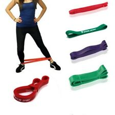 STRETCH RESISTANCE BAND LOOP GYM FITNESS EXERCISE YOGA POWER STRENGTH TRAINING