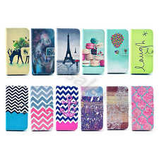 For Samsung Phone Case Colored Wallet PU Leather Stand ID Card Cover Well Design