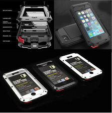 High impact metal Bumper Shock / Water Proof Case for Various iphone 4G 5G 5S 5C