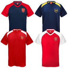 Arsenal FC Official Football Gift Mens Poly Training Kit T-Shirt