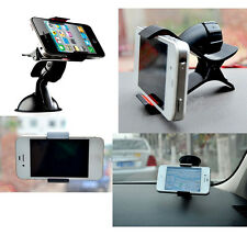 360°Mobile Phone GPS Car Universal Windscreen Suction Mount Holder Cradle Stand