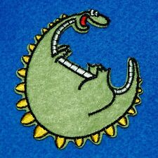 Dragon Dinosaur Iron Sew on Patch Embroidered Applique Biker Badge Cute Baby Lot