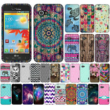 For Verizon LG Enact VS890 Ocean Sea Turtle Snap On HARD Case Cover Accessory