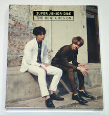 Super Junior D&E DONGHAE & EUNHYUK - The Beat Goes On (CD+Poster) K-POP KPOP