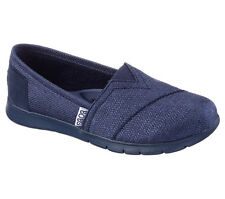 Skechers BOBS PUREFLEX-TIP TOES Women's Slip On Shoes NAVY 33605NVY