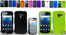 Screen Protector+Silicone Soft Cover Case For Samsung Galaxy Exhilarate SGH-i577