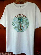 Hard Rock Hotel & Cafe Tampa Florida  Save the Planet Earth Day Shirt L Large