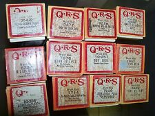 Player Piano Roll QRS Heh Jude Song Sung Blue Sweet Leilany Cook music rolls