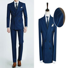 Premium New for Mens simple wedding formal oatmeal 2Button 2piece set suits 331