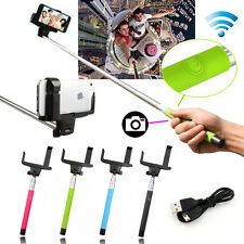 Handheld Bluetooth Selfie Stick Monopod Extendable For iPhone Samsung HTC GoPro