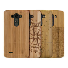 kwmobile WOOD COVER FOR LG G3 BAMBOO CASE BACK HARD NATURAL MOBILE PHONE