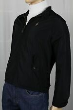 POLO RALPH LAUREN BLACK JACKET WINDBREAKER NWT $198