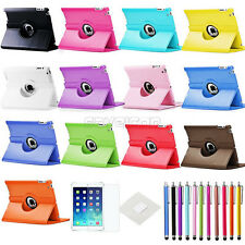 For Apple iPad Air 1 1st Gen 4G 360 Rotating PU Leather Case Cover Stand