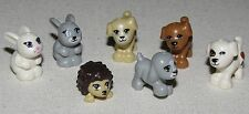 LEGO NEW FRIENDS ANIMALS PUPPY DOG BUNNY HEDGEHOG PETS YOU PICK WHICH FIGURES