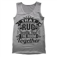That Rug Really Tied The Room Together big lebowski  dude abides Gray Tank Top