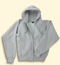 Mens Hwt Zip Hooded Sweatshirt Cross-Knit Small to 5XL