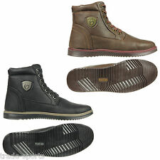 FIRETRAP MENS UK SIZE 6 7 8 9 10 11 12 BLACK BROWN WORK SHOES BOOTS MID 6 INCH