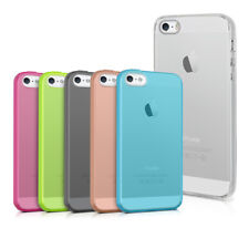 TPU SILICONE CRYSTAL CASE FOR APPLE IPHONE SE 5 5S SOFT COVER SILICON