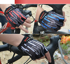 Thin Half Finger Men's Outdoor Sports Cycling Bike Bicycle Gloves 3 Colors HBT12