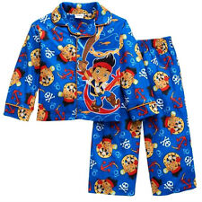 Toddler Boys Disney 2T JAKE AND THE NEVERLAND PIRATES Pajamas SHIRT PANTS NWT