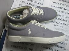 NIB Polo Ralph Lauren Polo Sport FORESTMONT canvas athletic DESIGNER  SHOES