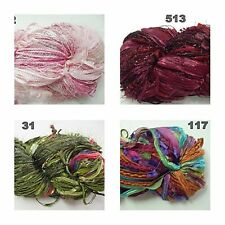 Feza Yarns Premier + Dazzle Luxury Yarn with Colour- and Material Change