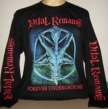 Vital Remains Forever Underground long sleeve T-Shirt Size S M L XL 2XL 3XL new!